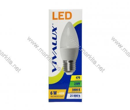 Крушка LED CAMEO CCL 6W E27 WW 3000K Вива