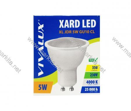 Крушка LED XL JDR 5w GU10 CL 4000K Вива