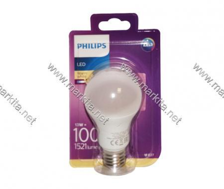 Крушка Led 100W E27 WW Philips A60