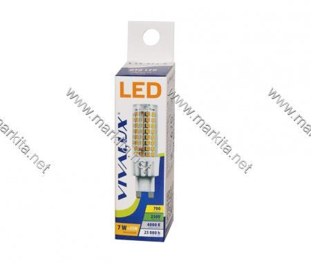 Крушка LED OTO 7W G9 CL Вива 4238