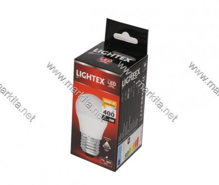 Лампа Led Plastic 5w 3000K E27 Lightex