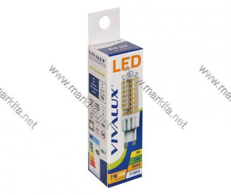 Крушка LED OTO 7W G9 WW Вива 4237