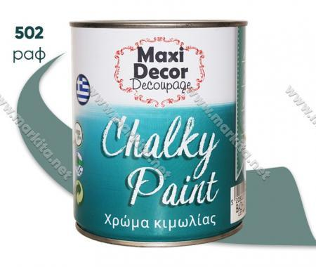 Боя тебеширена Chalky Paint 0.75л. 502 раф
