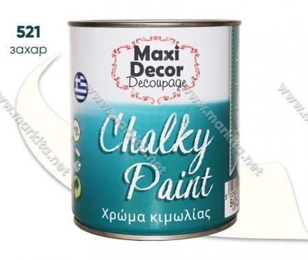 Боя тебеширена Chalky Paint 0.75л. 521 захар