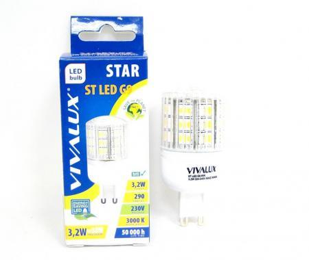 Крушка LED STAR ST G9 WW 3000К Вива