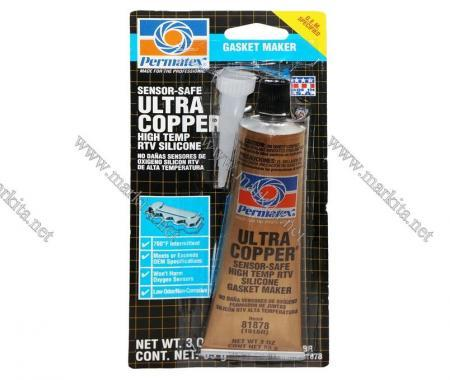 Силикон Permatex Ultra copper 99гр. 81878